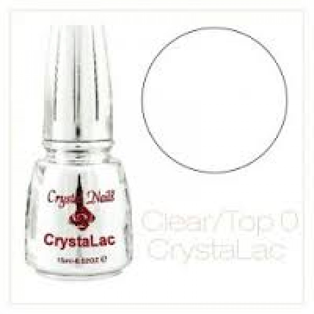 Crystal Nails Gel-Lac (GL0) Clear Top Gel 15ml
