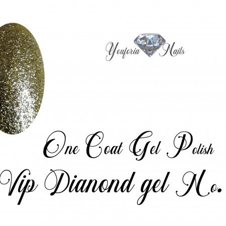 One Coat Gel Polish VIP Diamond Gel No. 12