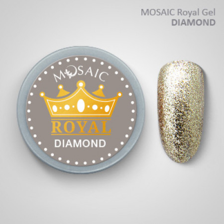 """Mosaic"" ROYAL Gel ""Diamond"""