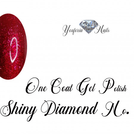 One Coat Gel Polish Shiny Diamond Gel No. 02