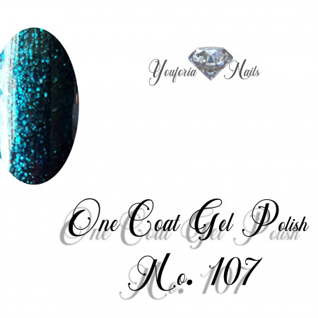 Youforianails One Coat gel polish Nr.107. 10 ml 0.33o.z.