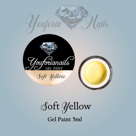Soft Yellow Gel Paint 5ml
