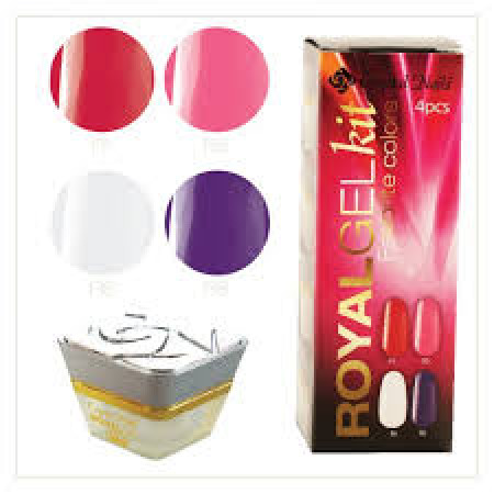 CN Royal Gel Favourite Colors Gel Kit R1, R5, R6, R8