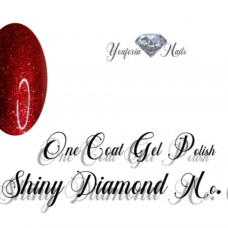 One Coat Gel Polish Shiny Diamond Gel No. 01