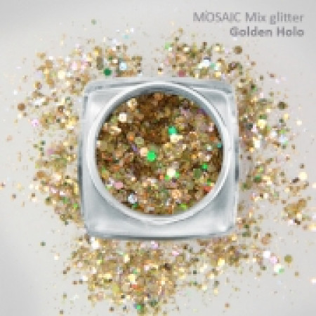 """Mix"" Luxury Glitter Golden Holo"