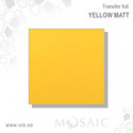 Yello Matt Transfer foil