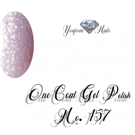 Youforianails One Coat gel polish Nr.157. 10 ml 0.33o.z.