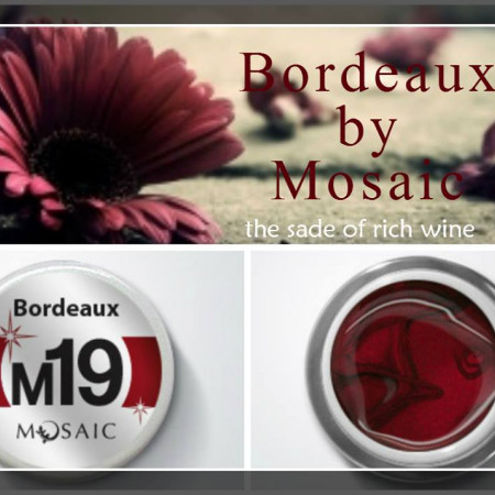 Metallic collection Bordeaux M19