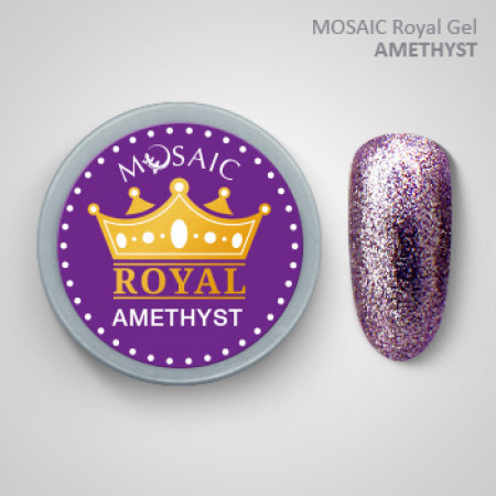"""Mosaic"" ROYAL Gel ""Amethyst"""
