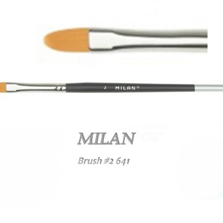 Nail art gel brush Milan #2 serie 641