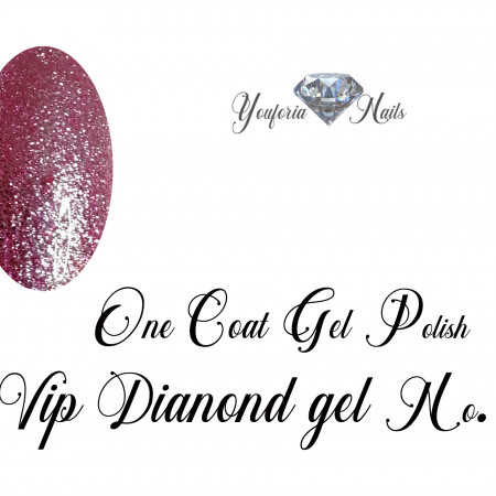 One Coat Gel Polish  VIP Diamond gel No. 13