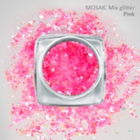 """Mix"" Luxury Glitter Pink"