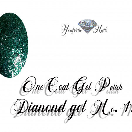 One Coat Gel Polish Diamond Gel No. 11