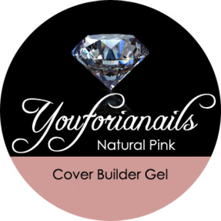 Youforianails Natural Pink Cover Builder Gel 30ml