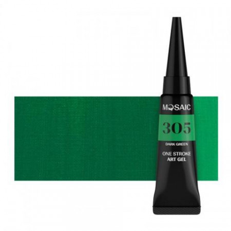MOSAIC ONE STROKE GEL PAINT 305 DARK GREEN