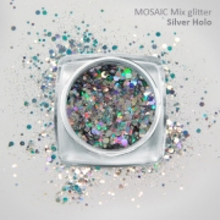 """Mix"" Luxury Glitter Silver Holo"