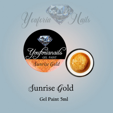 Sunrise Gold Gel Paint 5ml
