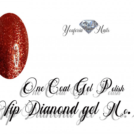 One Coat Gel Polish VIP Diamond Gel No. 20
