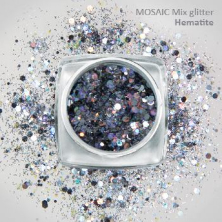 """Mix"" Luxury Glitter Hematite"
