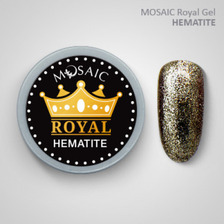 """Mosaic"" ROYAL Gel ""Hematite"""