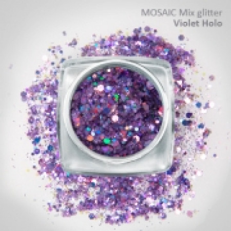 """Mix"" Luxury Glitter Holo Violet"