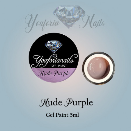 Nude Purple Gel Paint 5ml