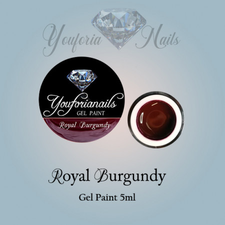 Royal Burgundy Gel Paints 5ml
