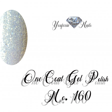 Youforianails One Coat gel polish Nr.160. 10 ml 0.33o.z.