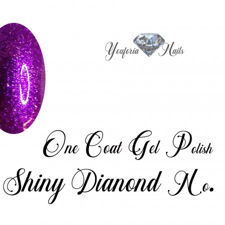 One Coat Gel Polish Shiny Diamond No. 09