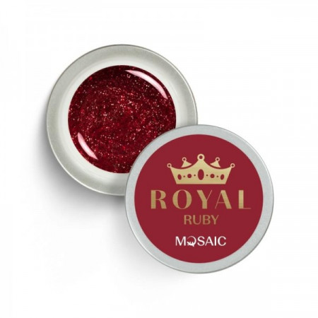 """Mosaic"" ROYAL Gel ""Ruby"""