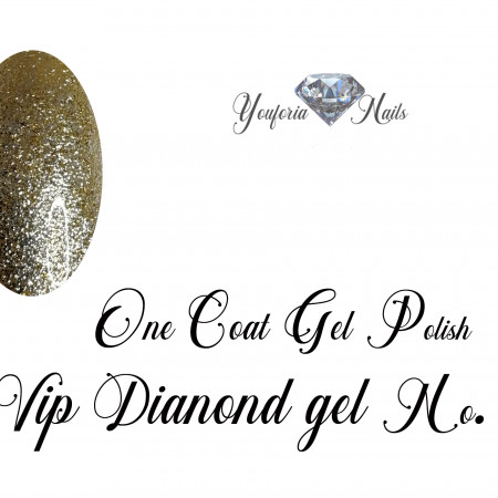 One Coat Gel Polish VIP Diamond gel No. 02