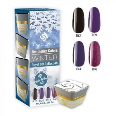 CN Bestseller Colors Winter Royal Gel Collection R12, R39, R44, R46