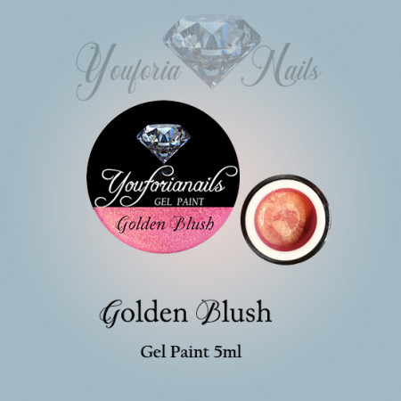 Golden Blush Gel Paint 5ml