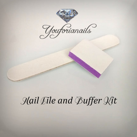 Nail file and buffer kit