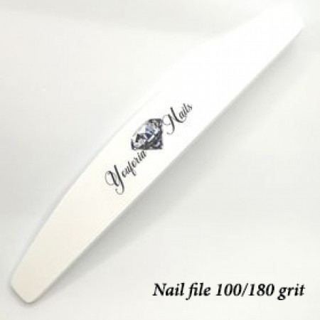 Professional Nail File White 100/180 grit